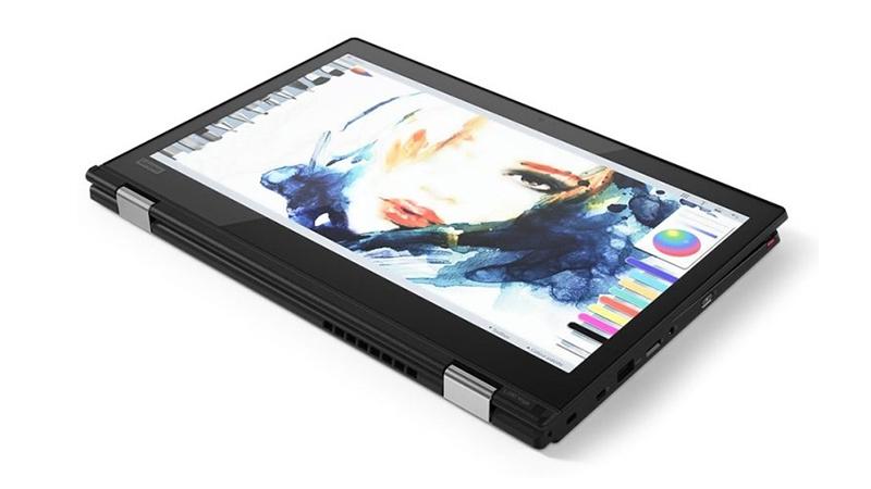 Lenovo ThinkPad L380 Yoga in tablet mode