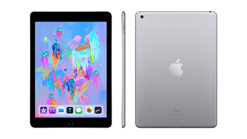 The Apple iPad is available to lease in: Rose Gold, Space Grey, Silver & Gold.