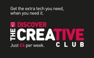Discover the Creative Club at HardSoft for just £6 per week.