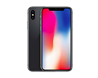 Apple iPhone X Front/Rear View