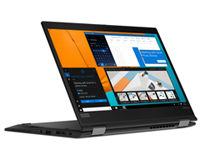 The versatile Lenovo X390 in Show mode