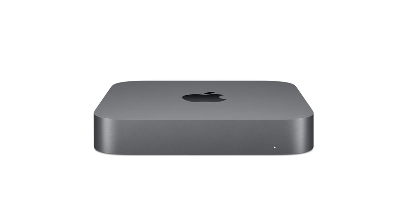 Front view of the Apple Mac Mini Apple Desktop