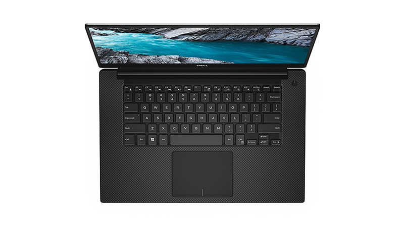 Dell XPS 15-9570 FRONT-VIEW