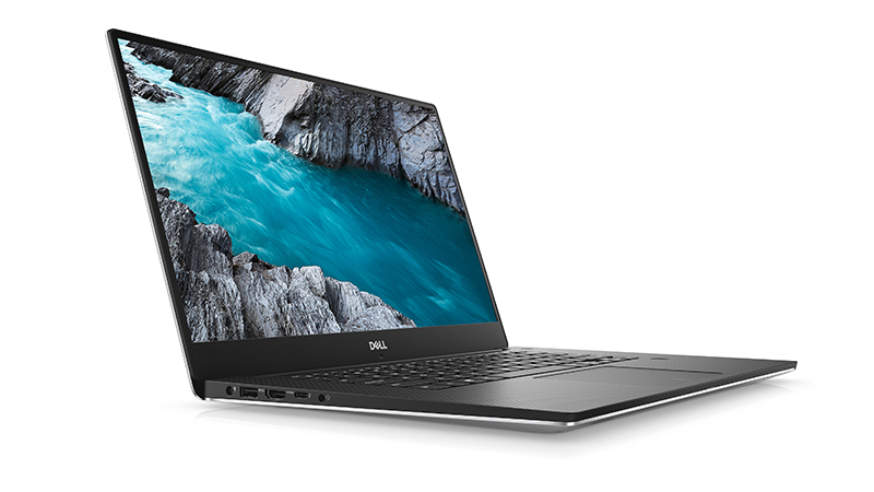 Dell XPS 15-9570 SIDE-VIEW