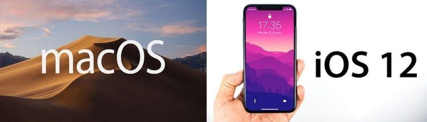 MacOS & iOS 12