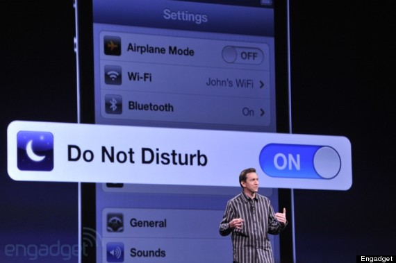 Do Not Disturb Features New in IOS 12