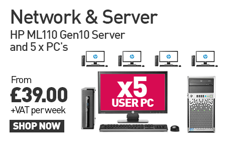 5-User PC Network Bundle with HP Proliant server