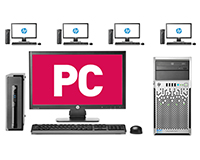 PC Networks available with your choice of Server & Hardware.