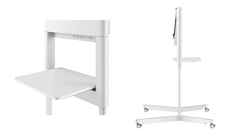 The Samsung Flip stand/display options available.