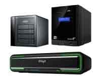 a selection of: NAS, Network & Server storage all available from HardSoft.