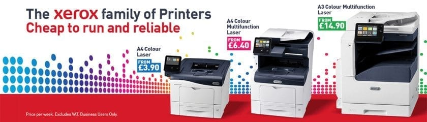 The Xerox printer features and price comparison