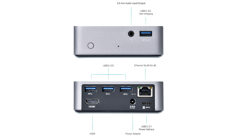 i-Tec 4K Metal Docking Station