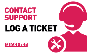 Log your support ticket & contact us