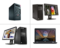 a selection of PC desktops powerful enough for VR/AR software