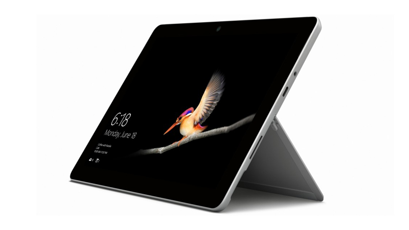 Side view of the Microsoft Surface Go