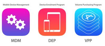 Apple's Device Enrollment program, USP & Logo's