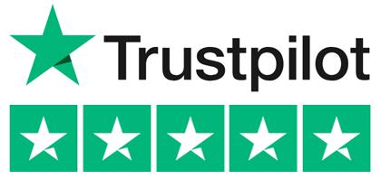 Trust pilot 5* logo