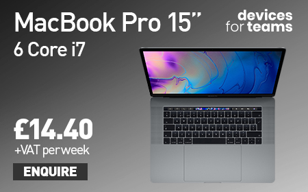 "Apple Notebook MacBook Pro 13"" from only £14.40 per week!"