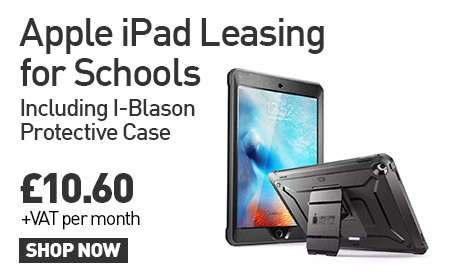 Apple iPad Leasing for Schools: Including I-Blason protective Case £10.60 +VAT Per Month. SHOP NOW