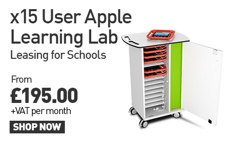 x15 User Apple Learning Lab: Leasing for Schools From £195.00 +VAT per month. SHOP NOW