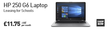HP 250 G6 Laptop: Leasing for Schools £11.75 per month