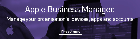 Apple Business Manager. Manage Your Organisation's, Devices, Apps And Accounts: Find Out More