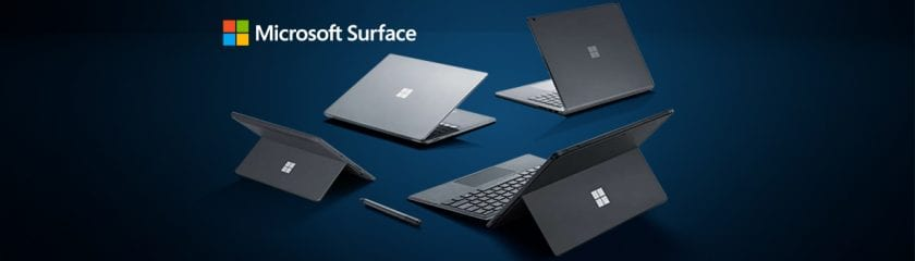 The Microsoft Surface Family: Surface Pro 6, Surface Laptop 2, Surface Book 2, Surface Go