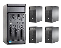 HP ProLiant ML110 Gen10 Tower Server & hp280 Desktops make our standard PC Server & network