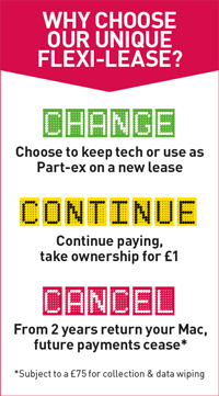 Why Flexi-Lease? Change, Continue or Cancel