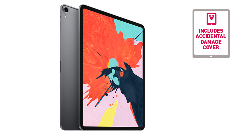 """Front and rear view of the iPad Pro 12.9"""""""