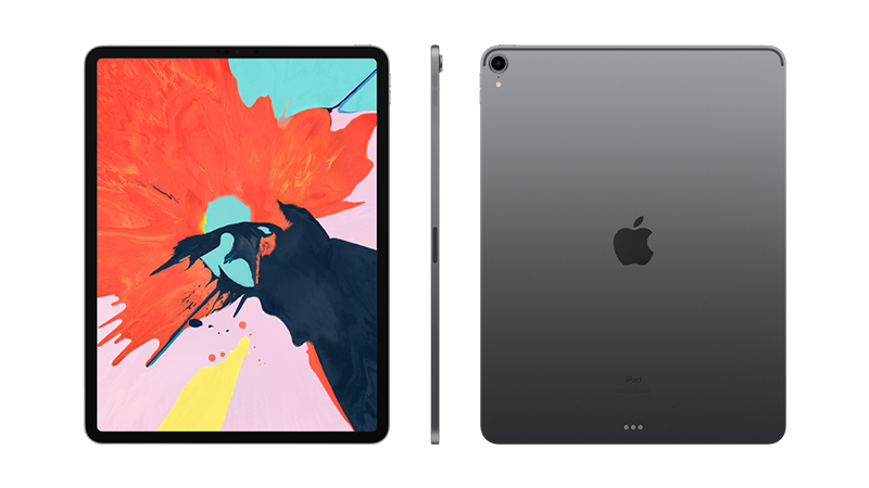Front and rear view of the iPad Pro 12.9""