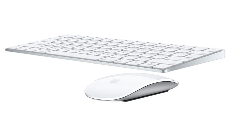 Apple Magic Mouse & Keyboard