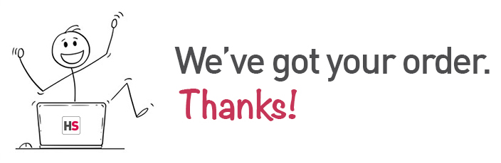 Thank you for placing your order! An e-mail is on it's way & we'll be in touch soon.