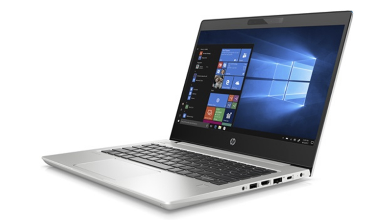 HP ProBook 430 Front and Side View, open