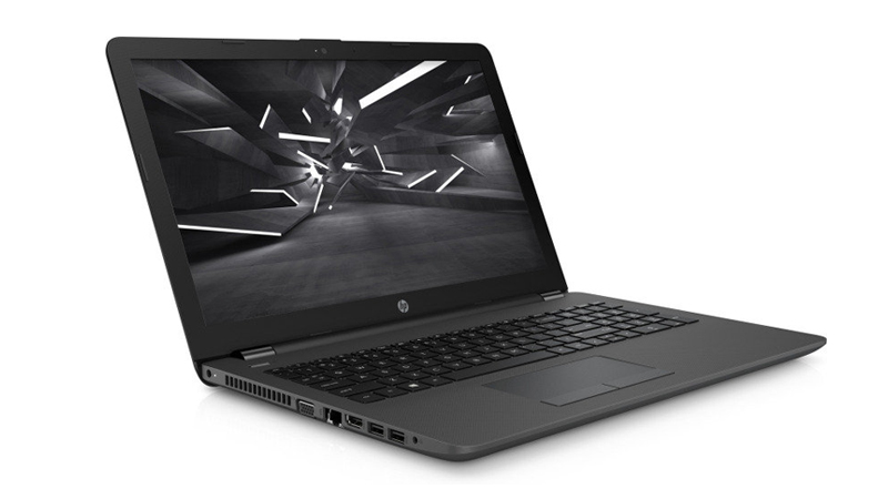 Open front view of the HP 255 G6 laptop