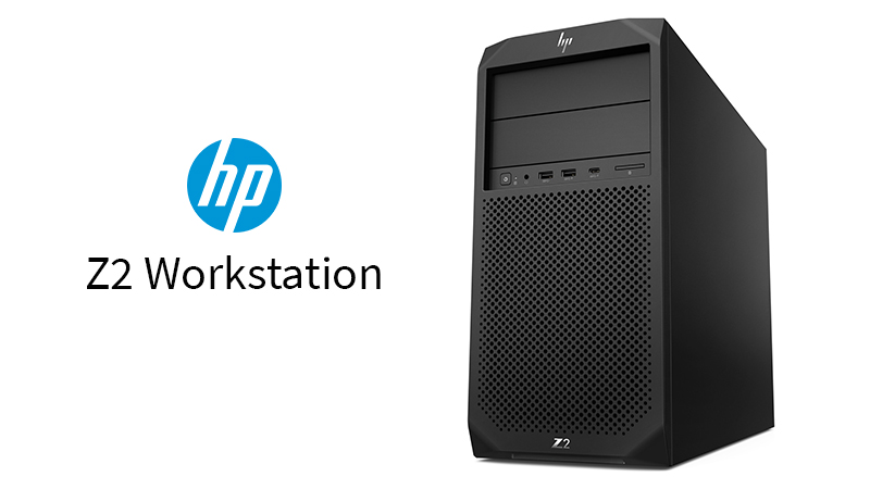 The HP Z2 G4 Workstation Front View