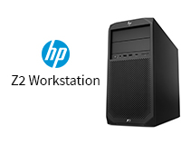 Front view of The HP Z2 G4 Workstation