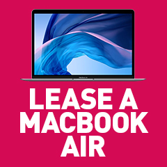 Lease a brand new MacBook Air from HardSoft