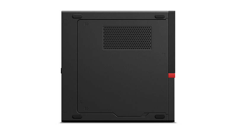 Lenovo ThinkStation P330 Tiny Workstation side view