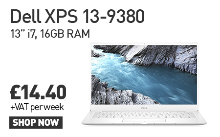 Lease the Dell XPS 9380 from HardSoft