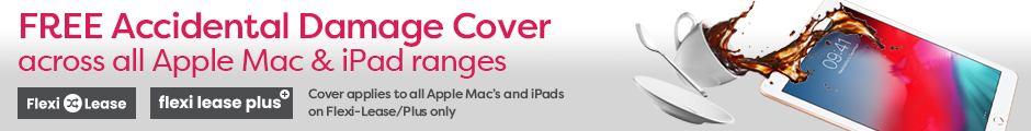 Free Accidental Damage cover across all our iPad & Mac Ranges.
