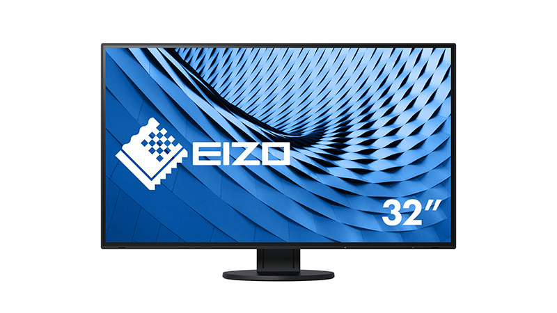 """Front view of the Eizo 32"""" FlexScan"""