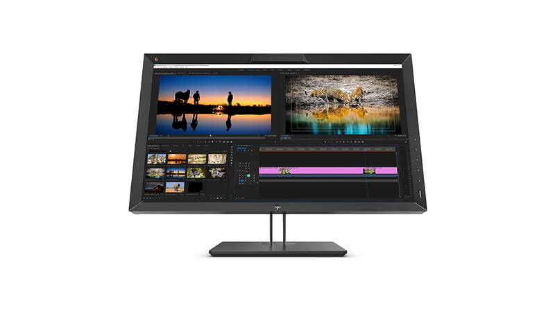 "Front view of the HP 27"" DreamColor Z27x G2 Studio Display"