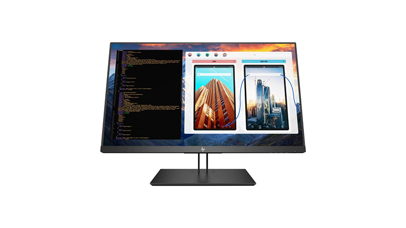 "Front view of the HP 27"" Z27 4K Display"