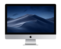 iMac Apple Desktop Front View