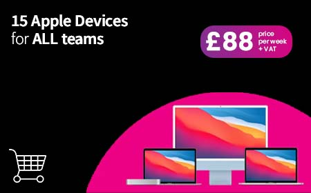 Devices for Teams - refit your office for just £90 per week!
