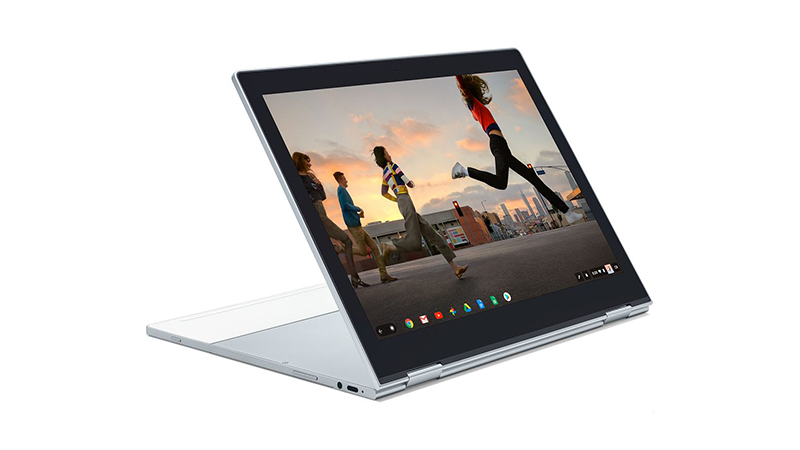 Tablet view of the Google Pixelbook