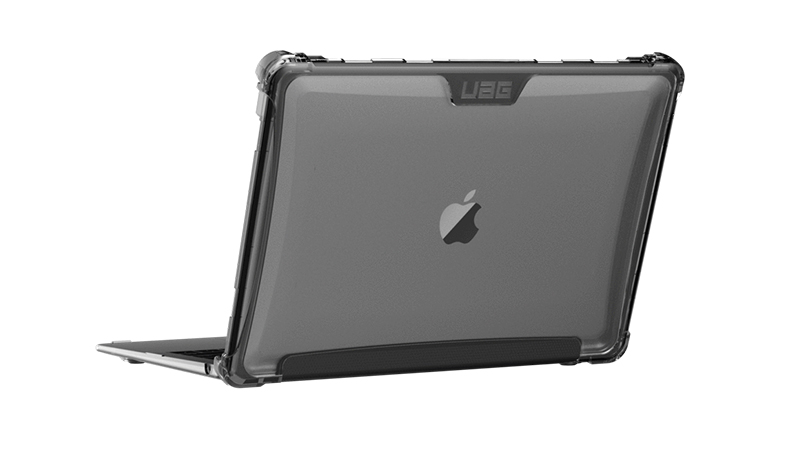 MacBook Air with Rugged Pylo UAG Case Rear-view