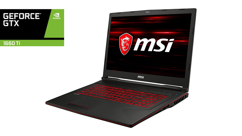 MSI GL73 9SD - Front View 2