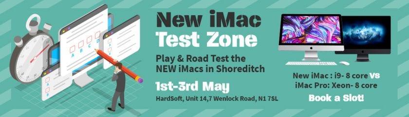HardSoft iMac Test Zone May 2019
